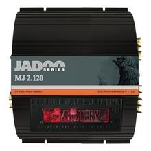 Усилитель MYSTERY MJ2.120 ( 2-канальный усилитель, cерия Jadoo, 2х60 Вт RMS (4 Ом), 2х120 Вт RMS(2 Ом), 1х120 Вт RMS(4 Ом), MOSFET)