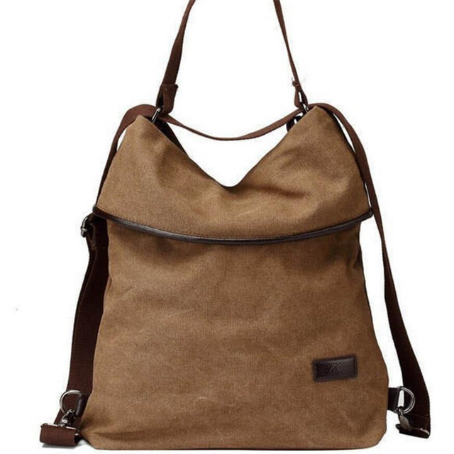 2017 Multifunctional Canvas Handbag Vintage Shoulder Bags Women Messenger Bags High capacity Ladies Bolsa Feminina