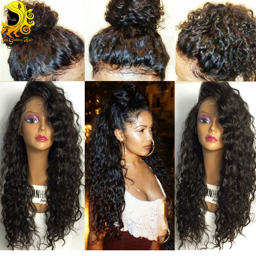 Brazilian Full Lace Human Hair Wigs With Baby Hair 8A Pre