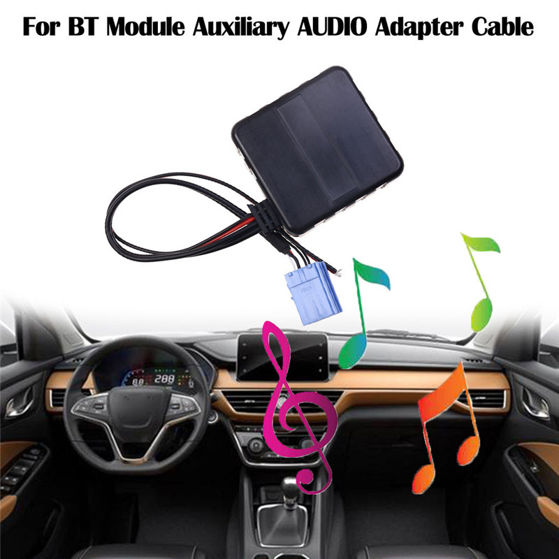 BT Bluetooth Adapter MP3 AUX CD Wechsler für Radio Smart ForTwo For Two 451 5351