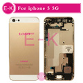 10Pcs/Lot AAA Brand New For iphone 5 5G Complete Full Middle Frame Chassis Housing Assembly with Flex Cable Cover Free shipping
