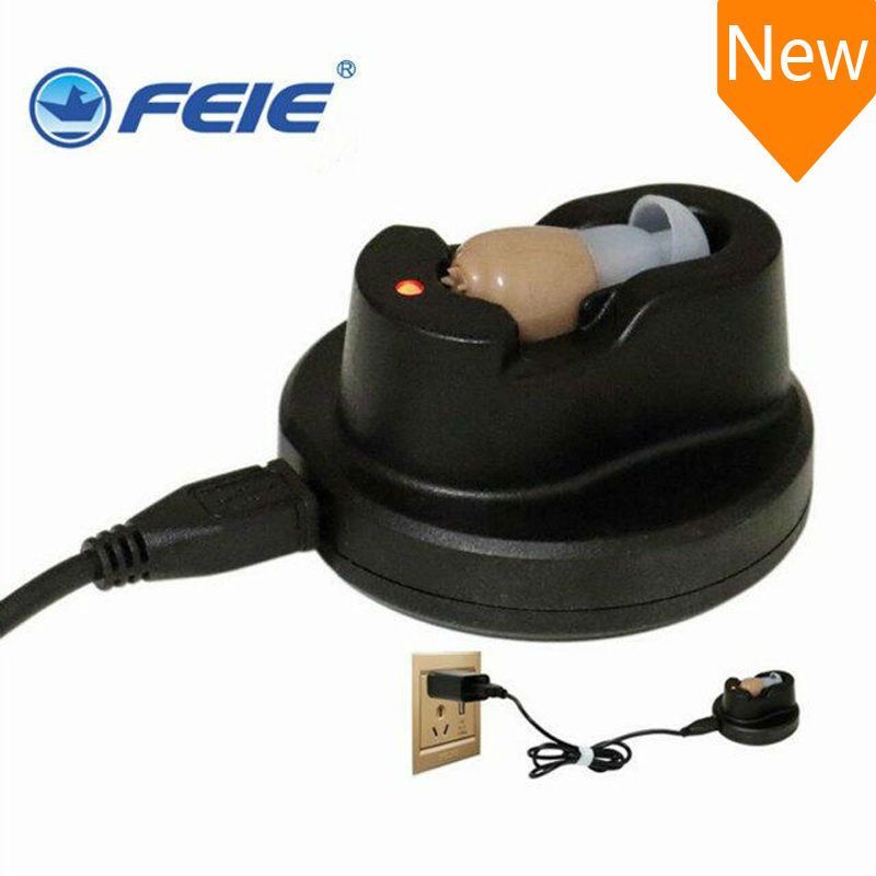 USB Hearing Aid Rechargeable Enhancement Deaf Sound Amplifier S-102 Cheap Price Free Shipping