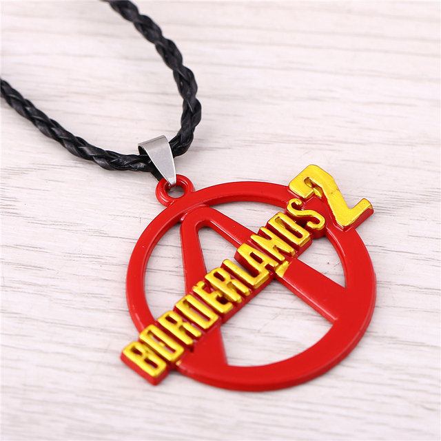 J Store Game Borderlands 2 Choker Necklace Borderlands Vault Symbol