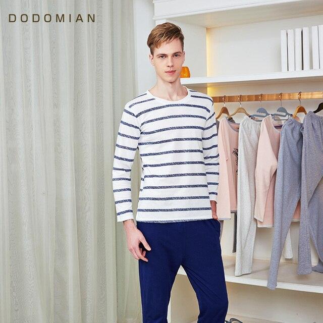 СДЕЛАТЬ МИАН Мужская Сна Устанавливает Полосатый Халат Набор Повседневная Loungewear 100% Хлопок Ночные Рубашки для Мужчин Рубашки Сна + Пижамы брюки