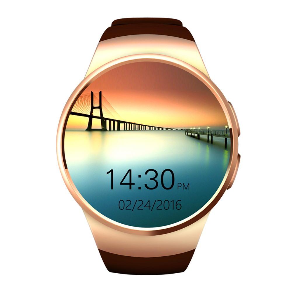 Time Owner KW18 SIM Card Smartwatch Reloj Inteligente Heart Rate Monitor Fitness Tracker for iPhone Samsung Huawei Moto LG HTC kabo a5 2600mah portable power bank w strap for iphone 5 htc samsung black