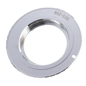 Image 2 - 9th Generation AF Bestätigen w/ Chip Adapter Ring für M42 Objektiv zu Canon EOS 750D 200D 80D 1300D