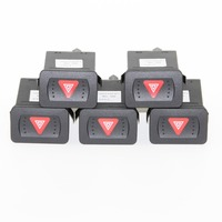 5pcs OEM interruptor de advertencia flash interruptores abeto para 4 VW Bora Golf Mk4 1J0 953 235 C 1J0 953 235c
