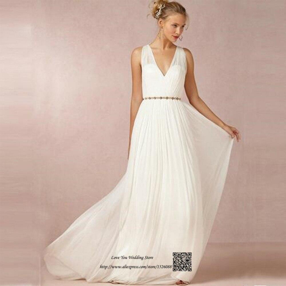 Kopen Direct Uit China Strand Trouwjurk Vestido De Noiva V