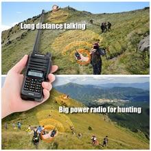 ビッグパワフルbaofeng UV 5Sトランシーバートランシーバー狩猟最新防水トランシーバーラジオ