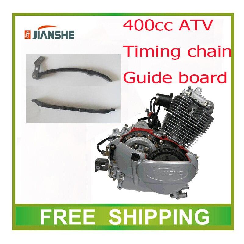 Atv400-1-3-7 Jianshe 400cc Guía De La Cadena De Distribución Del Motor Baord Atv Quad Accesorios Envío Gratis