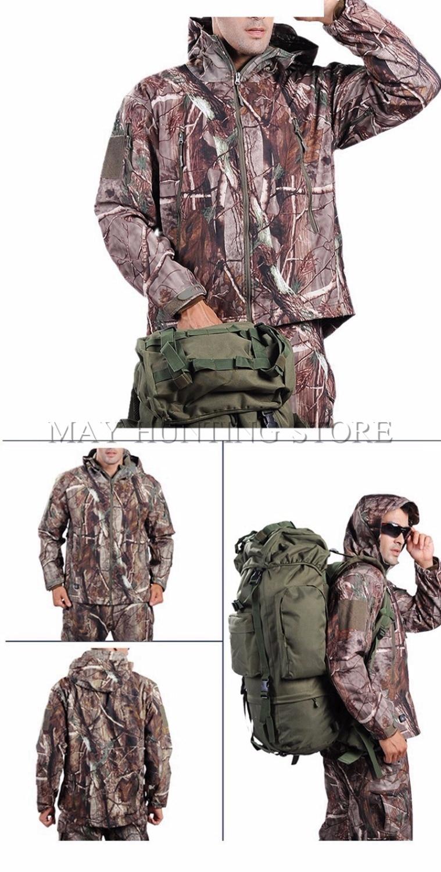 Camouflage jacke und hose