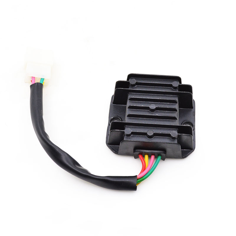 Motorcycle 4 Wire Voltage Regulator Rectifier For GY6 50cc-150cc Moped Scooter Dirt Bike Go Carts ATV TaoTao