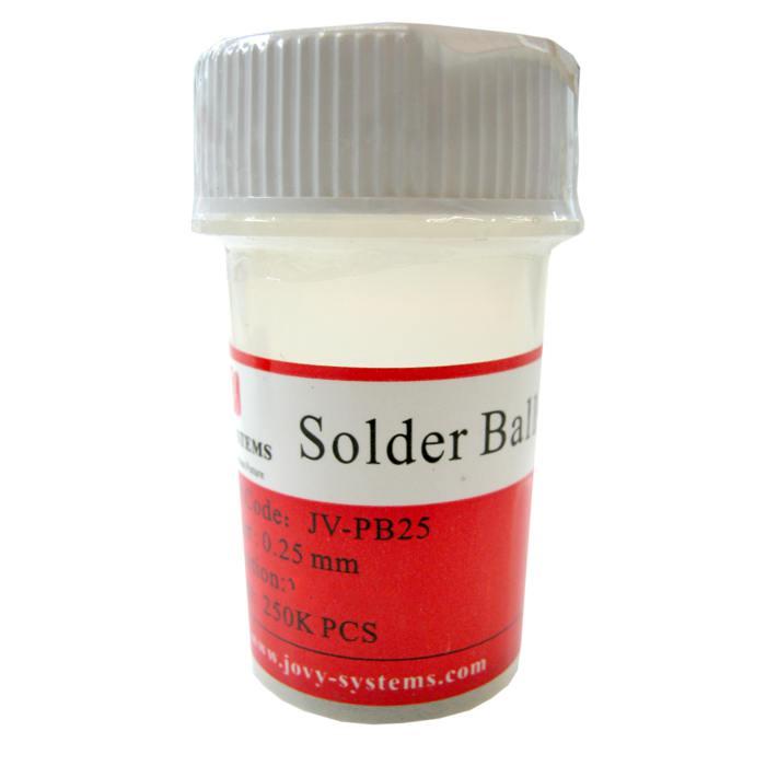Solder balls for BGA 0.25mm 250k, Lead free