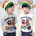 2016 spring autumn animal cartoon bear casual baby boys/girls clothes kids top outerwear pullover sweatshirt hoodies