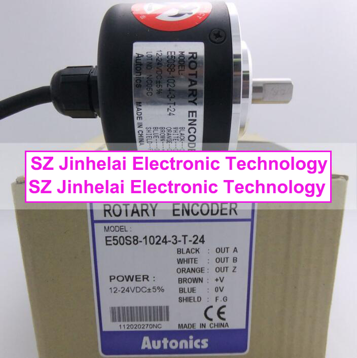 100% New and original  E50S8-1024-3-T-24  Autonics  ENCODER 100% new and original e50s8 360 3 t 24 autonics encoder