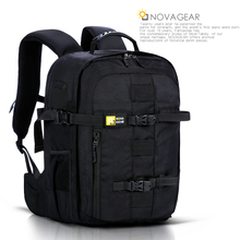 NOVAGEAR 134 一眼レフカメラバッグ写真カメラユニバーサル大容量旅行バックパック/ニコンカメラ用