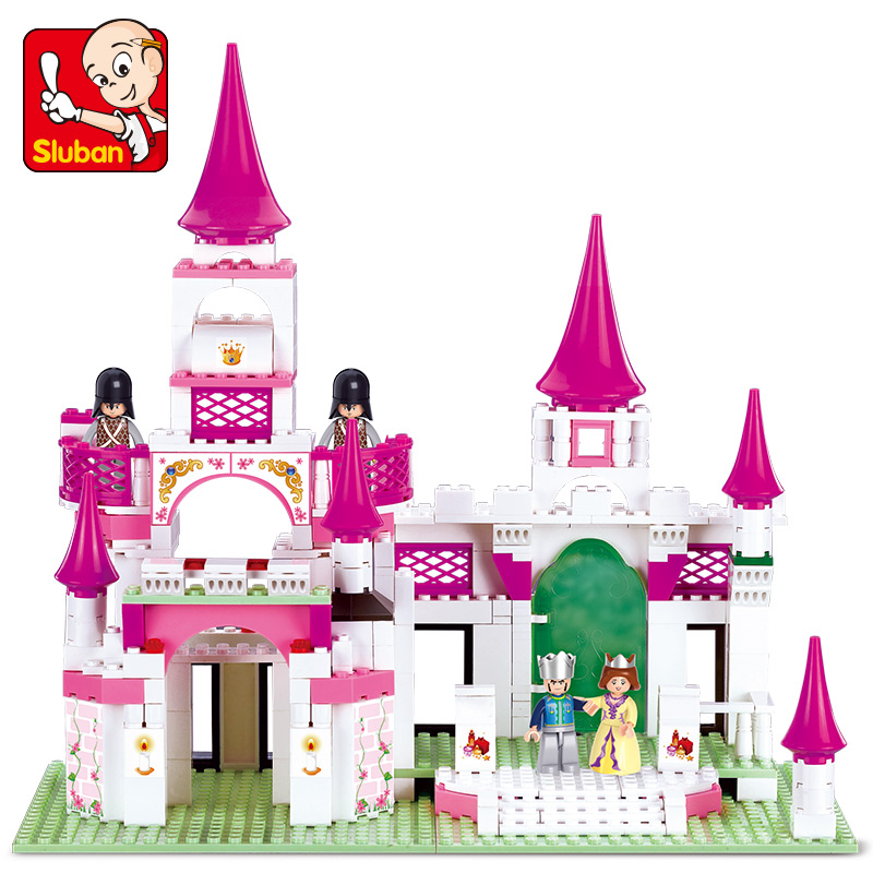Sluban Model Building Compatible lego Lego B0151 508pcs Castle Model Building Kits Classic Toys Hobbies Girl Dream цена