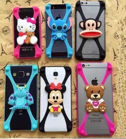 iphone 6 plus case silicone animal
