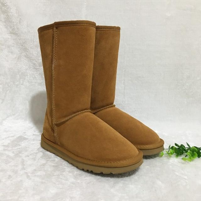 11 kolorów! Australijski marka premium IVG moda skórzane klasyczny dla obu płci wodoodporna wysokiej buty śnieg buty zimowe buty