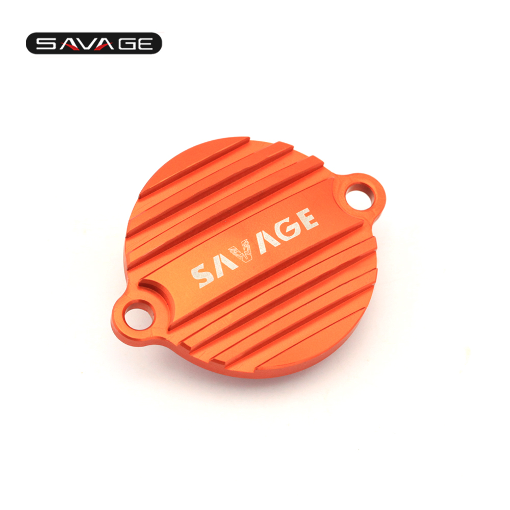 For KTM 690 ENDURO R/ LC4 SUPERMOTO/ SMC/ SMC-R/ DUKE/R Motorcycle CNC Aluminum Engine Oil Filter Reservoir Cap Cover for ktm duke 200 390 690 duke200 690 new pattern orange motorcycle front brake pump fluid reservoir cap cover modified parts