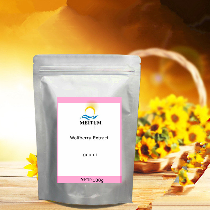 High Quality Natural Wolfberry Extract Powder, Improve Eyesight, Anti-cancer Cosmetology, Invigorate Kidney And Strengthen Yang