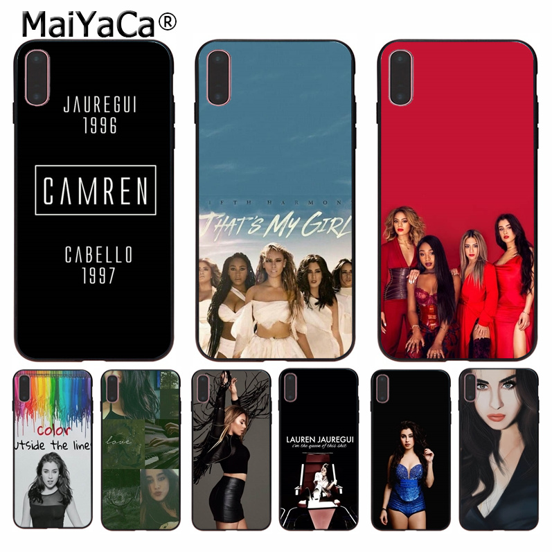 MaiYaCa 5h Fifth Harmony <font><b>Lauren</b></font> Jauregui Soft Rubber Phone Case Cover Shell for Apple iPhone 8 7 6 6S Plus X XS MAX 5 5S SE XR image
