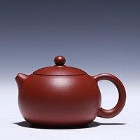 Yixing teekanne topf 220cc erz red clay topf ball loch steckdose Dahongpao schönheit 2233|beauty cc|beauty bbeautiful teapots -