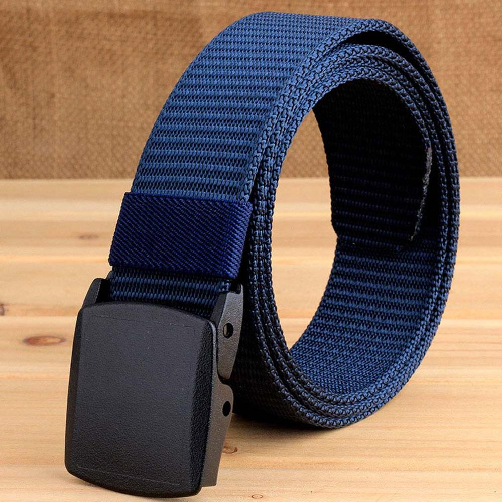 CUKUP Ladies Quality Design Outdoor Wear Resistant Canvas Belts Thickening Plastic Buckle Male Leisure Accessories Belt CBCK077 in Men 39 s Belts from Apparel Accessories