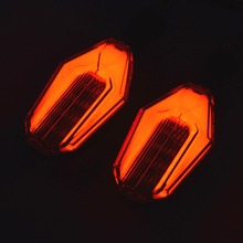 1 Pair High Quality Amber Light Universal lamp LED Motorcycle Turn Signal Indicators Lights 4 kinds of collocations 2 Colors