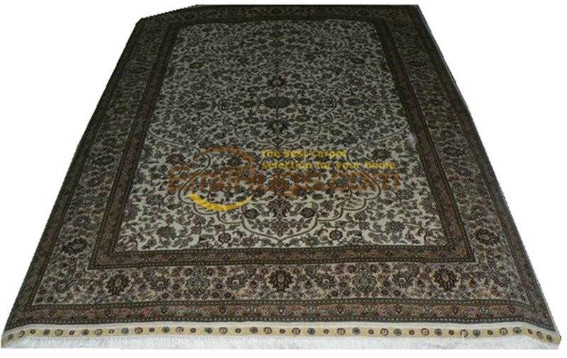 Hereke tapis de soie tapis Oriental tapis fait à la main chambre tapis pour tapis salon Roomgc117psilkyg28