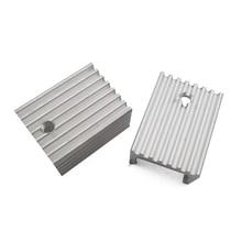 2 шт. Алюминиевый Радиатор TO-220 20*15*10 ММ Радиатор Охлаждения Для L7805 LM337 TO220 Триод Транзисторов Cooler IC Chip Радиатора