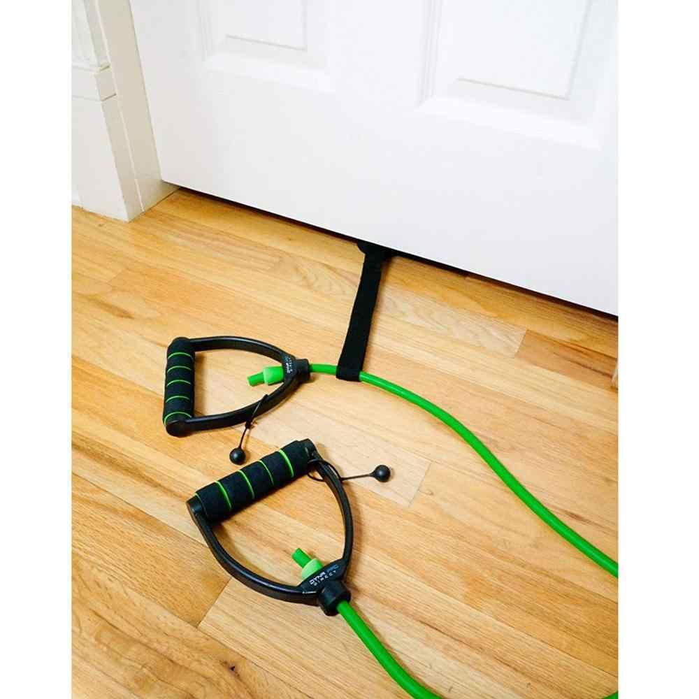 Zaczep na drzwi bardzo duża, aby zmieścić d-uchwyt wewnętrzne taśmy oporowe trening mięśni w domu sprzęt sportowy siłownia