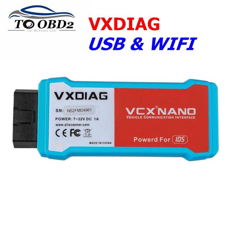 VXDIAG VCX NANO GDS2 V2019.04 i tech2win V33.003 skaner USB i WIFI dla systemu diagnostycznego/programującego opla dla GM