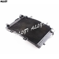 ALLGT Motorcycle Black Cooler Cooling Radiator Fits KTM 690 2010