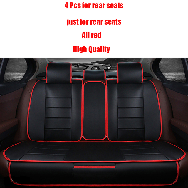 4 шт. Кожаные чехлы для сидений автомобиля Для Volkswagen passat B5 B6 поло tiguan touran golf mk4 4 5 6 7 jetta автомобильные аксессуары для укладки