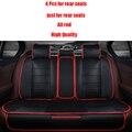 4 unids asiento De Cuero cubre Para Volkswagen passat B5 B6 polo tiguan touran golf mk4 4 5 6 7 jetta accesorios car styling