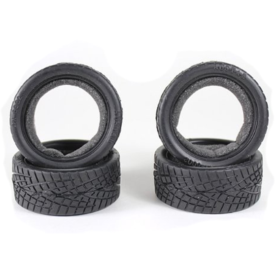 1/10 RC Car On Road Performance Rubber Racing Tire Tyre 8001 with Sponge 4pcs