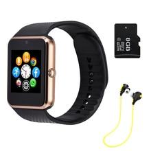 Heißer Verkauf! Smart Uhr Sync Notifier Unterstützung Sim-karte Bluetooth für Apple iphone Android Telefon Smartwatch Uhr