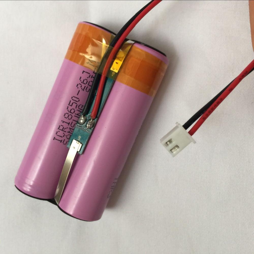 1 adet/grup 7.4 V 2600 mAh 18650 Lityum Şarj Edilebilir Piller 2 P Pil Paketleri Hoparlörler Bluetooth