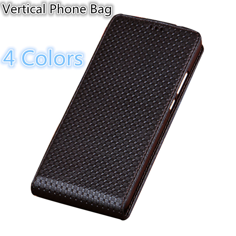 SS04 Natural Leather Phone Bag For Huawei Honor 8X Max(7.12') Up and Down Vertical Flip Cover For Huawei Honor 8X Max Flip Case