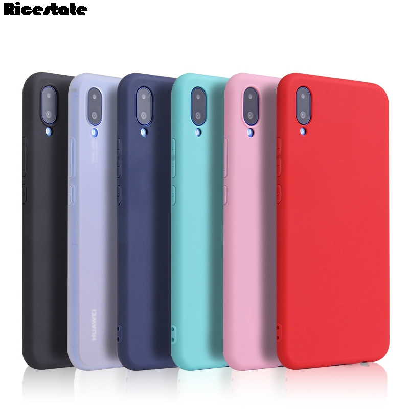 For Huawei Y7 2019 Silicone Tpu Soft Back Cover Huawei Y7 Prime