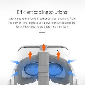 BOBOVR Z6 Upgrade 3D Glasses VR Headset Google Cardboard Bluetooth Virtual Reality Glasses Wireless VR Helmet For Smartphones 5