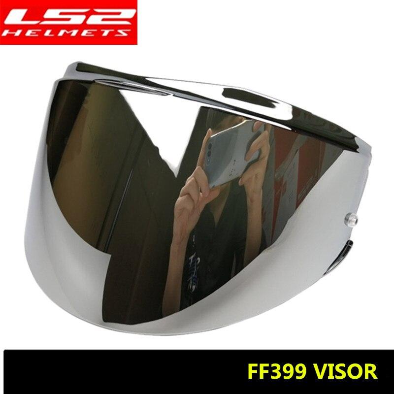 Helmet Visor For LS2 FF399 Anti-scratch Full Face Helmet Colored Lens