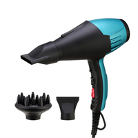 Professional 2000W Salon Hair Dryer 2 in 1 Hot Air Dryer Brush Hair Dryers Negative Lonic Hair Blow Dryer for Barber