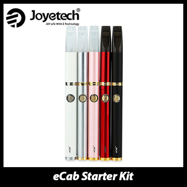 Clearance! 100% Original Joyetech eCab Starter Kit with Changeable Atomizer & 720mAh Battery e Cigs Vape Kit with AC Charger