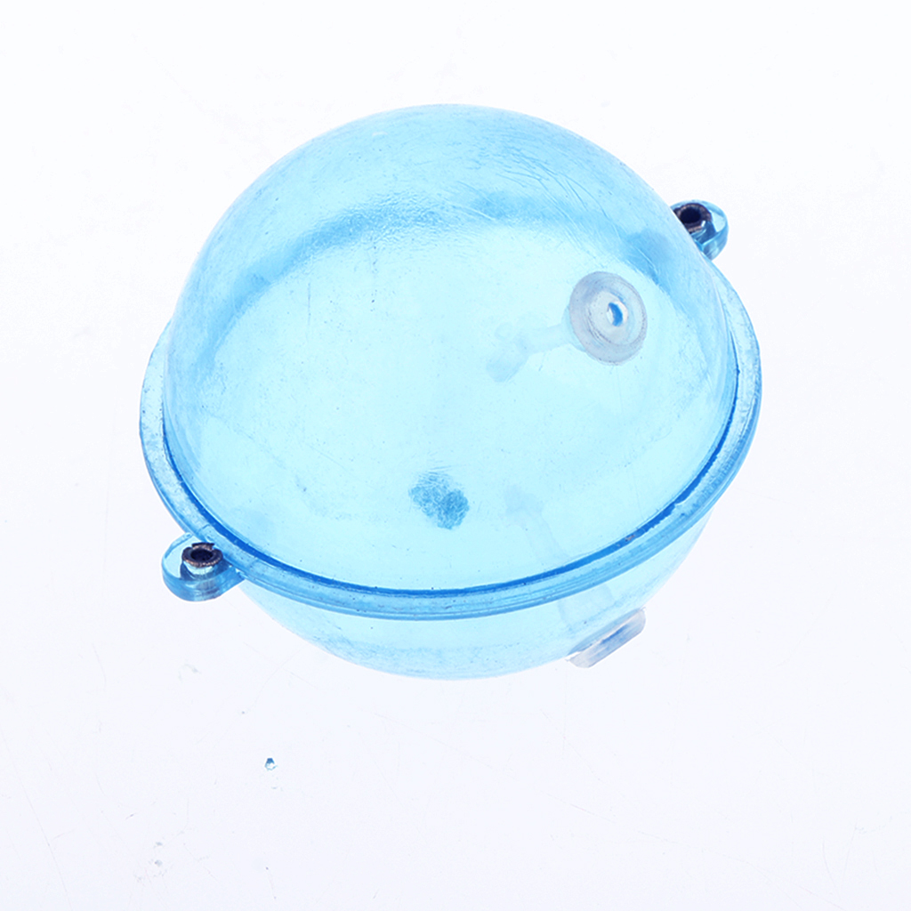 Image 5 - 5Pcs Clear Round Fishing Bobber Floats Buoy Airlock Strike Bite Indicators ABS Plastic Fishing Accessories Blue L/M/S-in Fishing Float from Sports & Entertainment