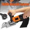 Drillpro 760 W Biscuit Jointer máquina de trabajo de madera Tenoning máquina de galletas máquina rompecabezas Groover