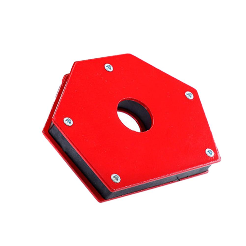 25LB Soldering Locator <font><b>Strong</b></font> Magnet Welding Magnetic Holder 6 Angle Processing Fixed Welding Tool 45/90/105/<font><b>120</b></font>/135 Degree image