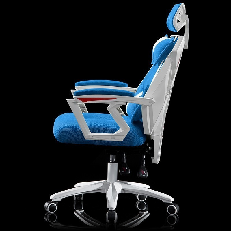 Work Household In An Office Ergonomic Furniture Gaming Computer Chair Netting Can Lie Revolving Boss Noon Break Game Competition(China)