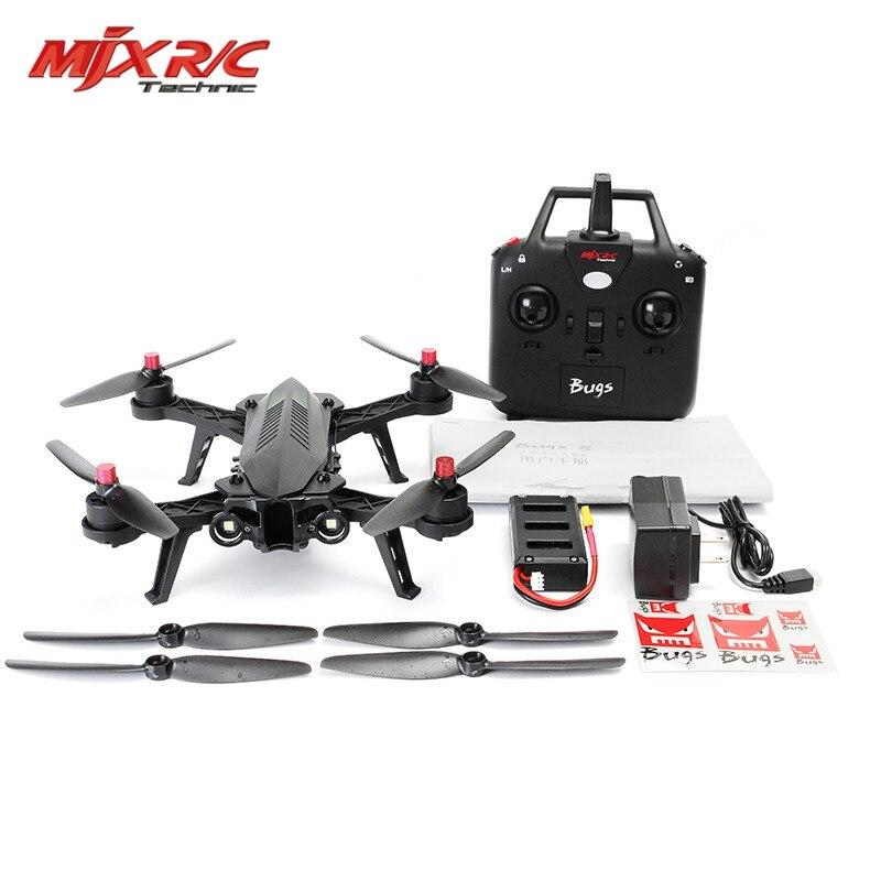 En Stock MJX Bugs 6 Brushless Moteur C5830 Caméra 3D Rouleau Flip Racing 2.4G 4CH FPV Quadcopter RC Caméra Drone Jouet RTF VS Bugs 3 8